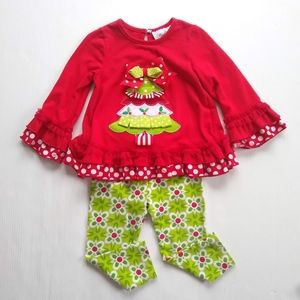Rare Editions • Christmas tunic & leggings outfit
